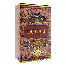 Evaflor - Double Whisky EDT 100ml (туалетная вода) мужская, фото 2