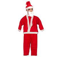 Костюм Санта Клауса для мальчика 3-6 лет