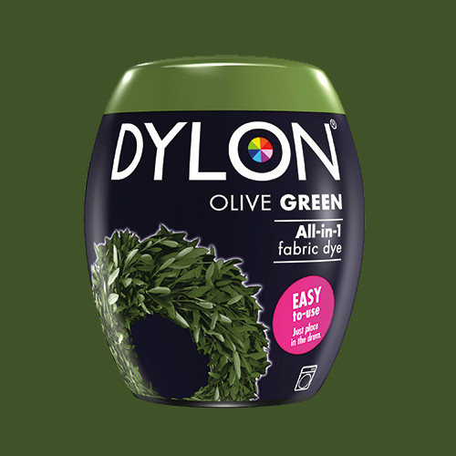 Краска для ткани DYLON Olive Green 34 - для стиральной машины