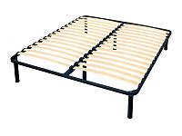 Ламелевый каркас кровати 200х200 см xxl 3,5 см между ламелями