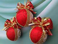 Подарунковий набір новорічних кульок на ялинку., фото 1
