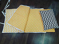 Слипик 120×60(матрасик, простынка, одеяло на молнии + подушка)