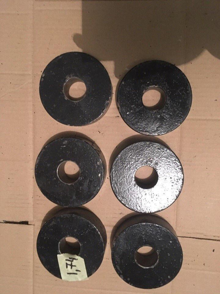 Блины б.у. для гантелей или штанги, металл