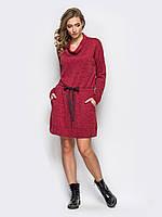Яркое удобное молодежное женское платье на резинке р.44,46,48,50