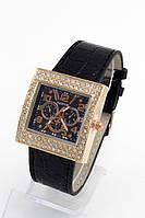 Женские кварцевые наручные часы Fashion черные (Копия)