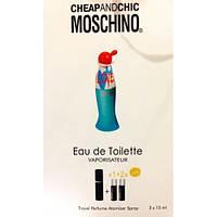 Парфюм с феромонами Moschino Cheap and Chic I Love Love 3 по 15мл в сумочке