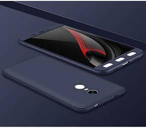 Чехол Full Cover 4D для Xiaomi Redmi Note 4, фото 2