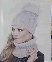 "Хомут женский ""Шадо53"" на флисе, разные цвета, 150/120 (цена за 1 шт. + 30 гр.)"