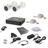 Комплект видеонаблюдения Tecsar AHD 2OUT LUX