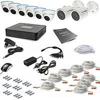 Комплект видеонаблюдения Tecsar AHD 8OUT-MIX3