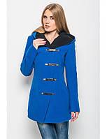 Женское кашемировое пальто с цельнокроеным капюшоном