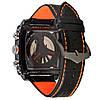 Мужские механические часы TАG - Monaco 24 цвет корпуса черный, черный ремешок