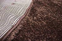 Ковер PUFFY-4B S001A 0.8x1.5, Овал, brown