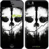 "Чехол на iPhone 5 Call of Duty череп ""150c-18-6129"""