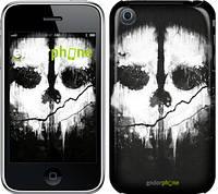 "Чехол на iPhone 3Gs Call of Duty череп ""150c-34-6129"""