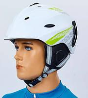 Шлем горнолыжный регулируемый CS-6287-W белый L