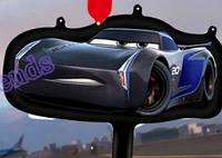 Симпатичный надувной гоночный  автомобиль 38×30