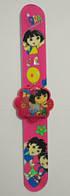 """Часы детские наручные электронные """"Даша путешественница"""" (DORA, Dora, Даша, Дора). Ярко-розовые"""