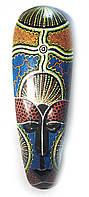 Деревянная маска настенная в коллекцию