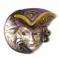 Маска декоративная керамическая Венецианская ночь