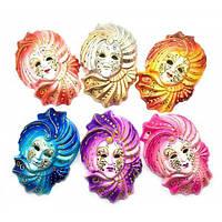 Настенная маска декоративная керамика