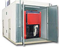 Блочно-модульная котельная  от 100кВт  (на твердом топливе)