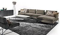 Итальянский модульный диван на высоких металлических ножках JASPER фабрика Ditre Italia