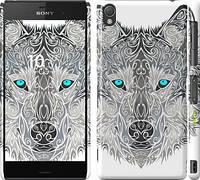 "Чехол на Sony Xperia Z3 D6603 Узорчатый волк ""3039c-58"""