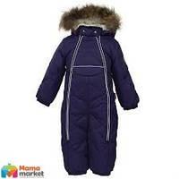 Kомбинезон-пуховик зимний для мальчика HUPPA BEATA 1 31930155, цвет dark lilac 70073