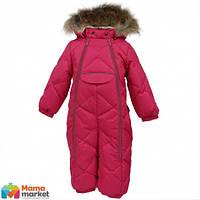 Kомбинезон-пуховик зимний для девочки HUPPA BEATA 1 31930155, цвет fuchsia 70063