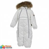 Kомбинезон-пуховик зимний для девочки HUPPA BEATA 1 31930155, цвет white 70020