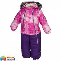 Kомбинезон зимний для девочки HUPPA DEVON 1 36160130, цвет fuchsia pattern/ lilac 71363