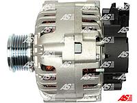 Генератор (новый) для Fiat Ducato 2.0 JTD. 90 Ампер. Фиат Дукато 2,0 джейтд