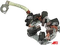 Щеткодержатель стартера Peugeot Boxer 2.2 HDi (06-) Пежо Боксер. Щетки в комплекте. SBH0025 - AS Poland.