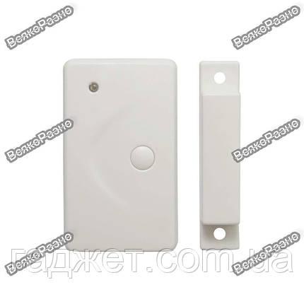 Беспроводной датчик открытия двери/окна 433 Мгц для GSM сигнализации, фото 2