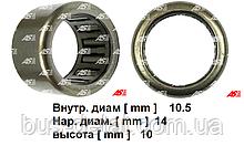 Підшипник стартера Opel Vivaro 2.5 CDTi. Опель Віваро. Голчастий на передню кришку. ABE9065 - AS Poland.