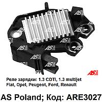 Реле зарядки генератора Fiat Doblo 1.3 JTD (Фиат Добло) интегралка, реле регулятор ARE3027