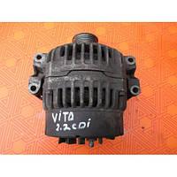 Генератор б.у  для Mercedes-Benz Vito 2.2 cdi. Генератор Bosch,Valeo на Мерседес-Бенц Вито.