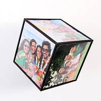 Рамка в виде куба, фотокуб, рамка куб, фоторамка куб, фоторама куб, рамка для фотографий куб, куб для фото