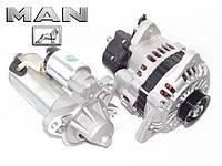 Стартер, генератор на MAN (МАН). AS Poland - европейское качество новых запчастей.
