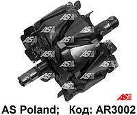 Ротор (якорь) генератора AR3002 AS-PL Valeo Audi, BMW, Citroen, Dacia, Fiat, Ford, Mercedes-Benz