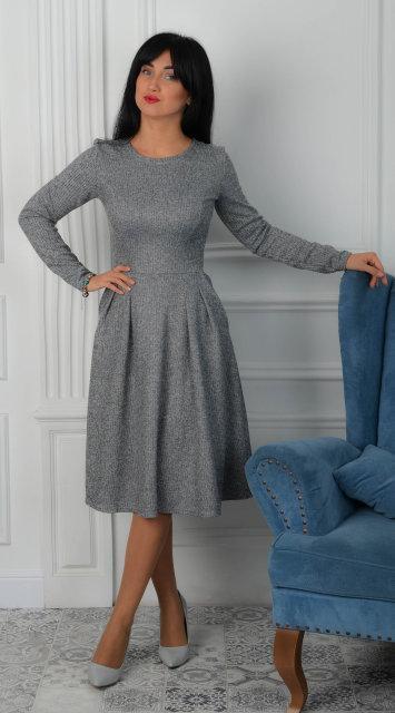 bf898077178 Купить Теплое молодежное платье 612252623 - Грация   Стиль