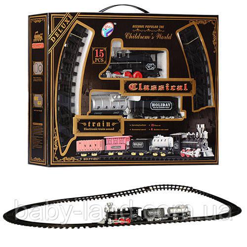 Железная дорога детская музыкальная Deluxe Classical YY-097