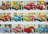 """""""Лиша"""" 3D Комплект постельного белья  разные цвета 1,6-спальный"""