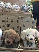 Мягкая игрушка, плюшевая игрушка, плюшевая собачка, плюшевая собака, мягкая собачка, мягкая собака