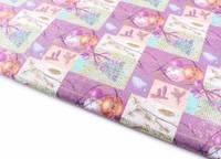 Новогодняя бумага для упаковки подарков №3