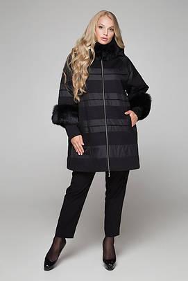 Зимнее пальто больших размеров 52-68