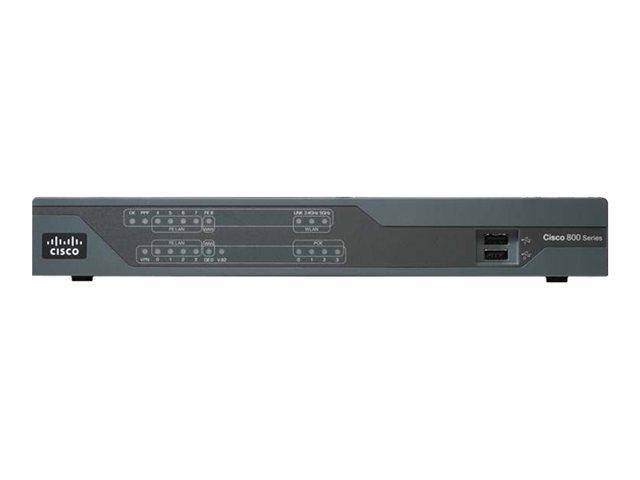 Маршрутизатор  Cisco 888E EFM Router with ISDN backup (CISCO888E-K9)