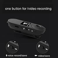 Миниатюрная миникамера с диктофоном HD-008Pro Full HD