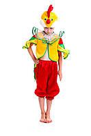 """Детский карнавальный костюм """"ПЕТУШОК"""" для мальчика на 3-7 лет"""